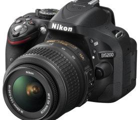 Фотоаппарат Nikon D5200 Kit VR 18-55 мм