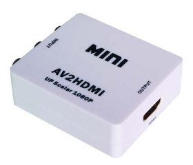 HDV-M615 Mini AV to HDMI Up Scaler 1080P конвертер адаптер