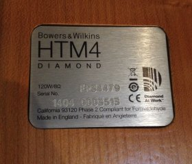 BOWERS&WILKINS HTM 4 D2 -4