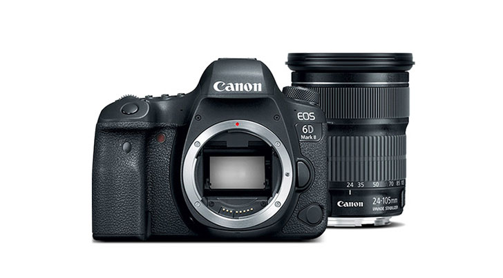 Лучший фотоаппарат 2019 Canon EOS 6D Mark II Kit